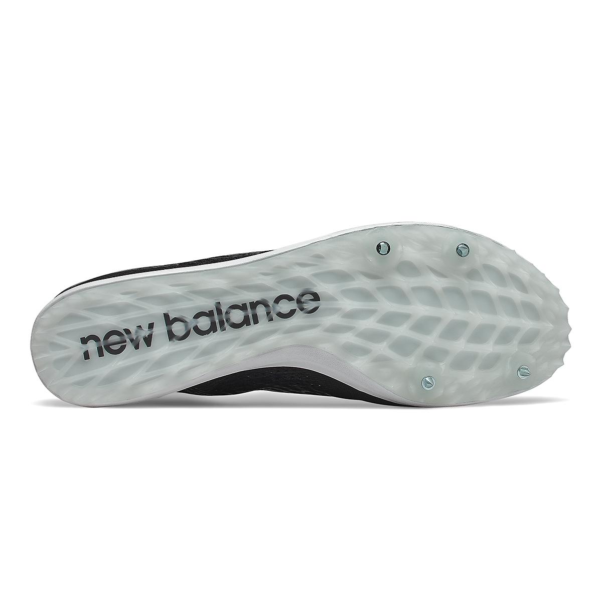 Men's New Balance LD5Kv8 Track Spikes - Color: Black/White - Size: 8 - Width: Regular, Black/White, large, image 4