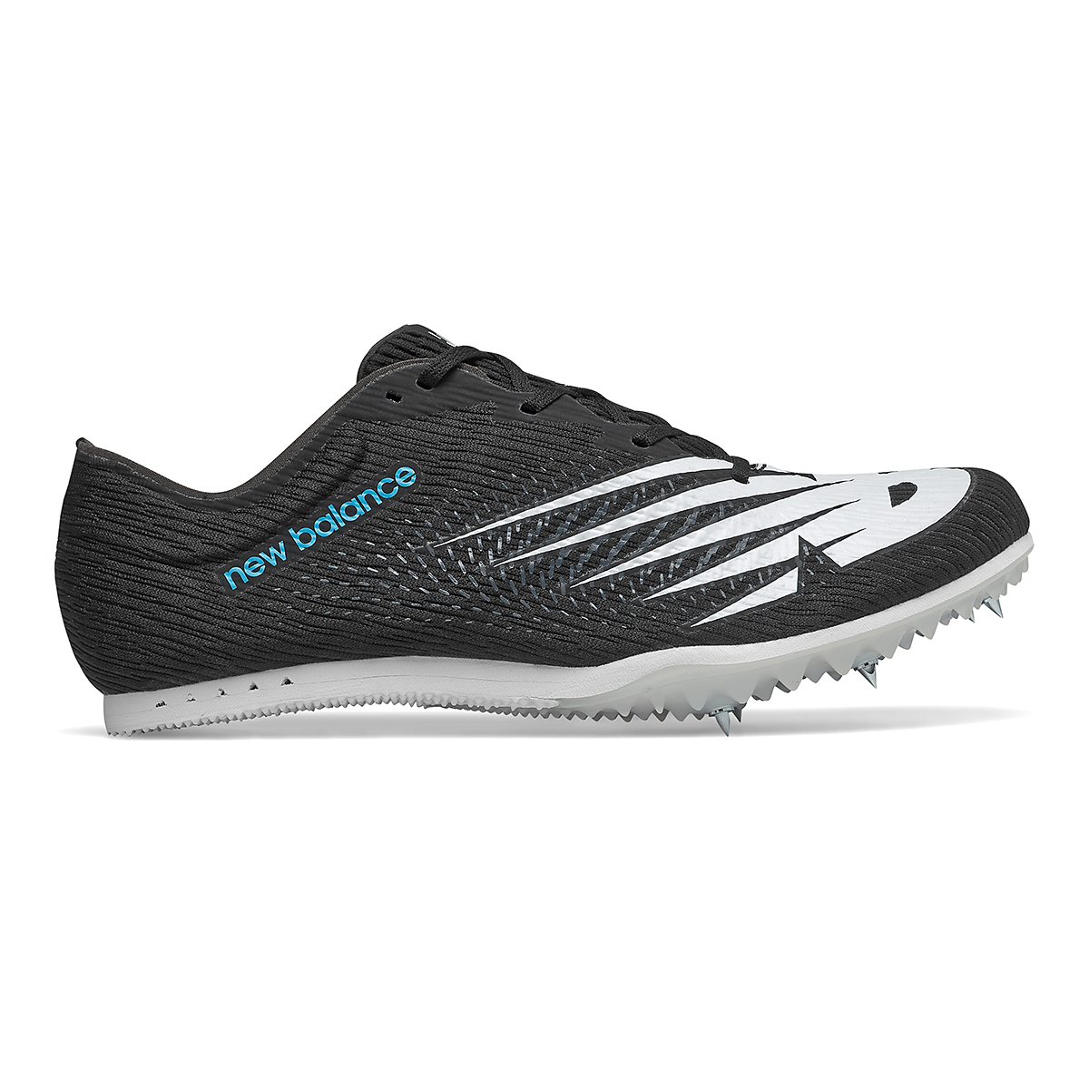 Men's New Balance MD500v7 Track Spikes - Color: Black/White - Size: 6.5 - Width: Regular, Black/White, large, image 1
