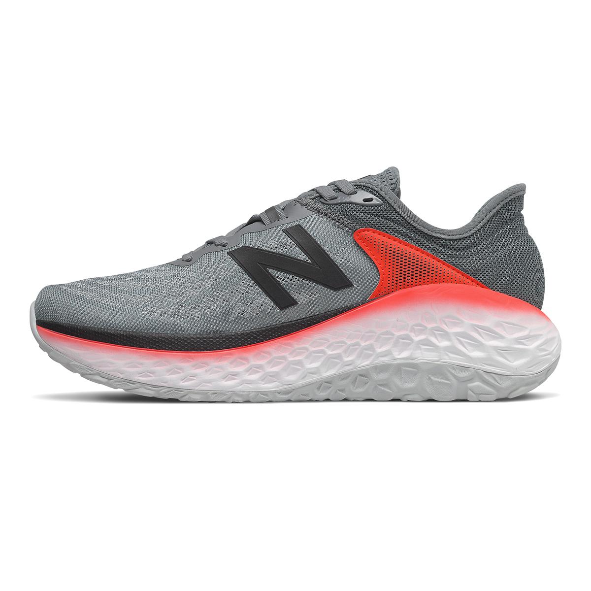 Men's New Balance Fresh Foam More V2 Running Shoe - Color: Gunmetal - Size: 7 - Width: Wide, Gunmetal, large, image 2