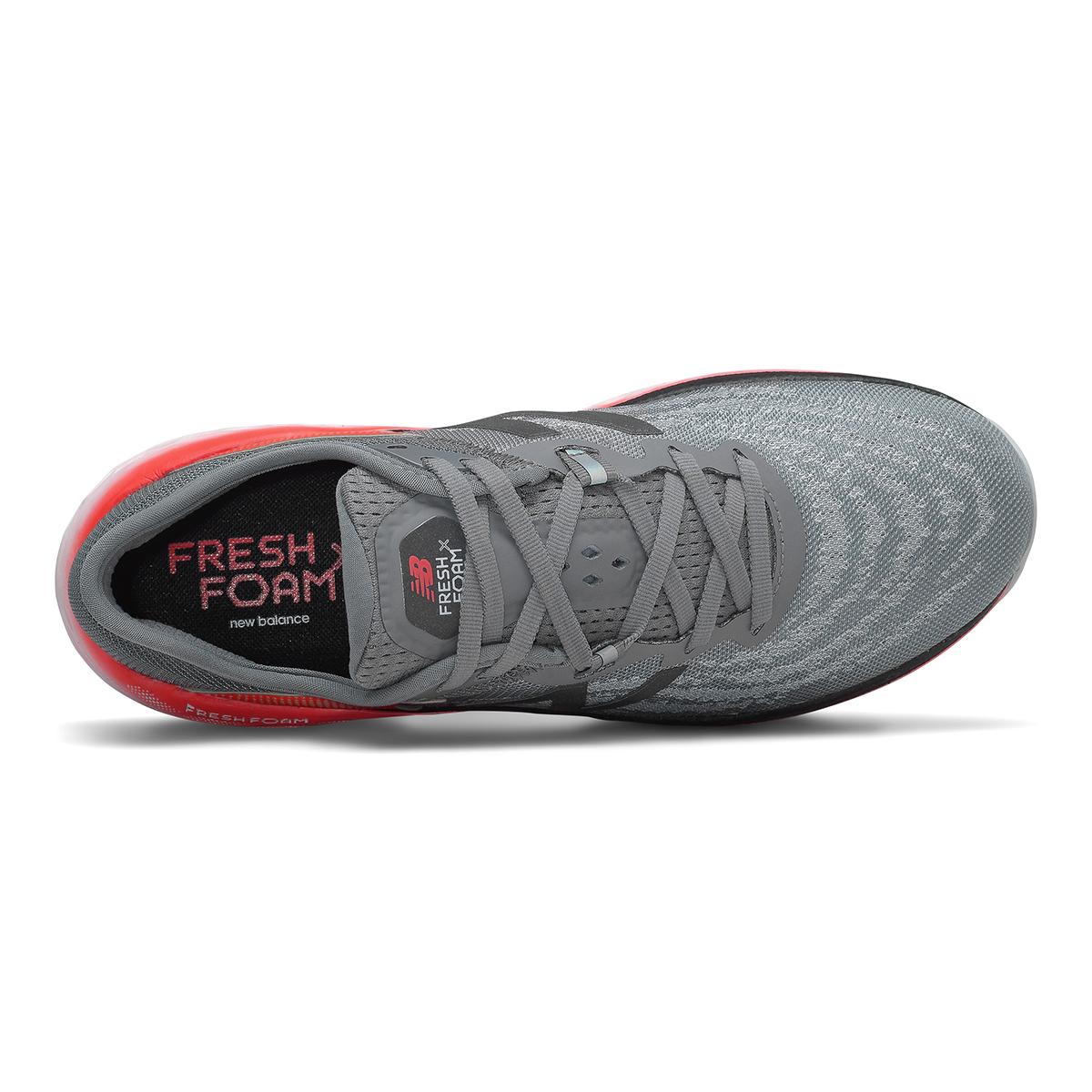 Men's New Balance Fresh Foam More V2 Running Shoe - Color: Gunmetal - Size: 7 - Width: Wide, Gunmetal, large, image 3