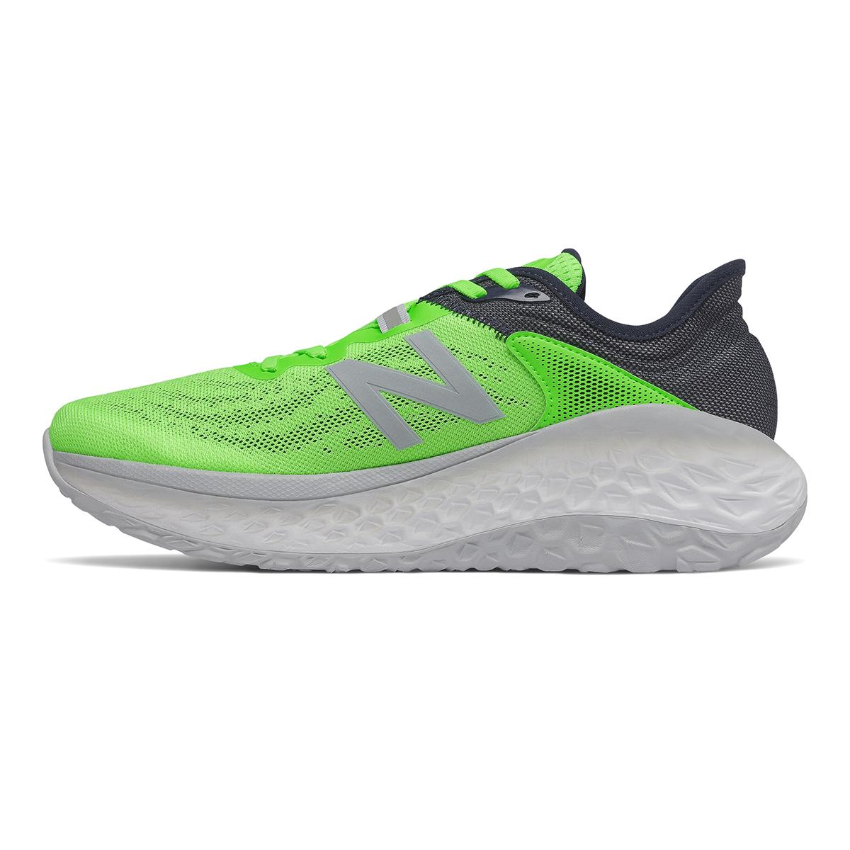 Men's New Balance Fresh Foam More V2 Running Shoe - Color: Energy Lime - Size: 7 - Width: Wide, Energy Lime, large, image 2