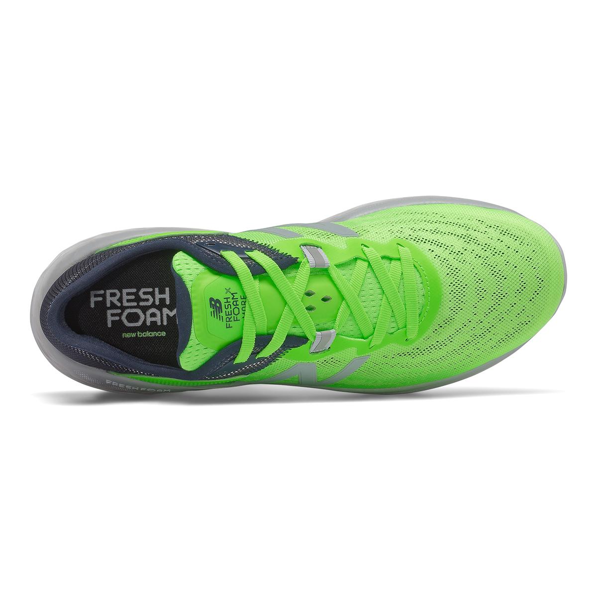 Men's New Balance Fresh Foam More V2 Running Shoe - Color: Energy Lime - Size: 7 - Width: Wide, Energy Lime, large, image 3