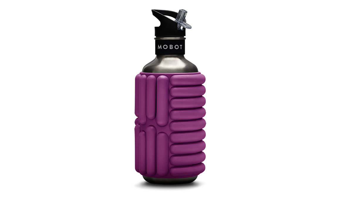 MOBOT Big Bertha Foam Roller Water Bottle - Color: Candy Pink  Size: 40oz, Candy Pink, large, image 1