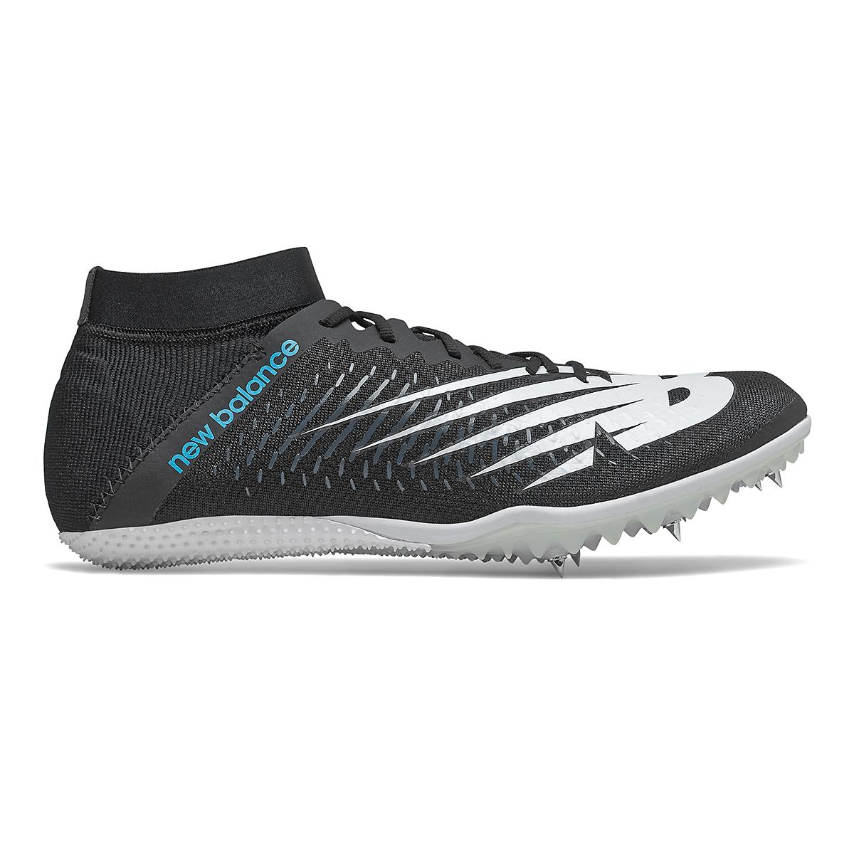 Men's New Balance SD100v3 Track Spikes - Color: Black/White - Size: 4.5 - Width: Regular, Black/White, large, image 1