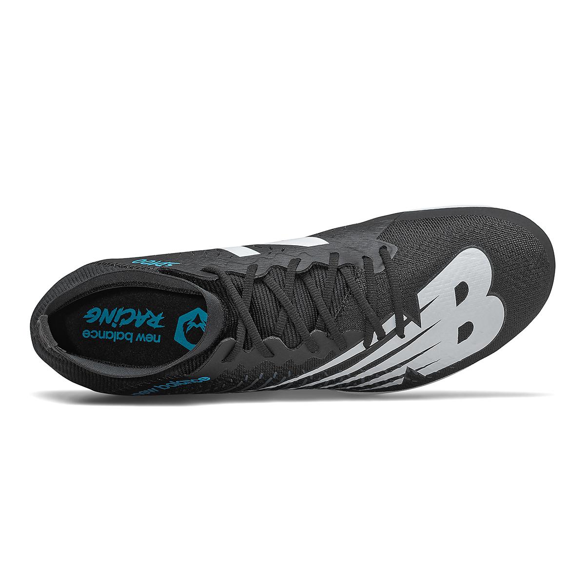 Men's New Balance SD100v3 Track Spikes - Color: Black/White - Size: 4.5 - Width: Regular, Black/White, large, image 3