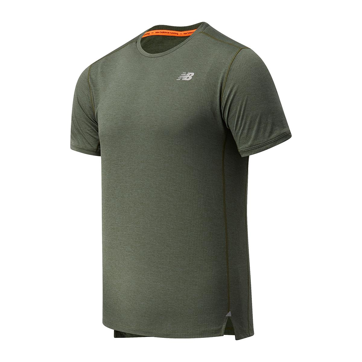 Men's New Balance Impact Run Short Sleeve, , large, image 1