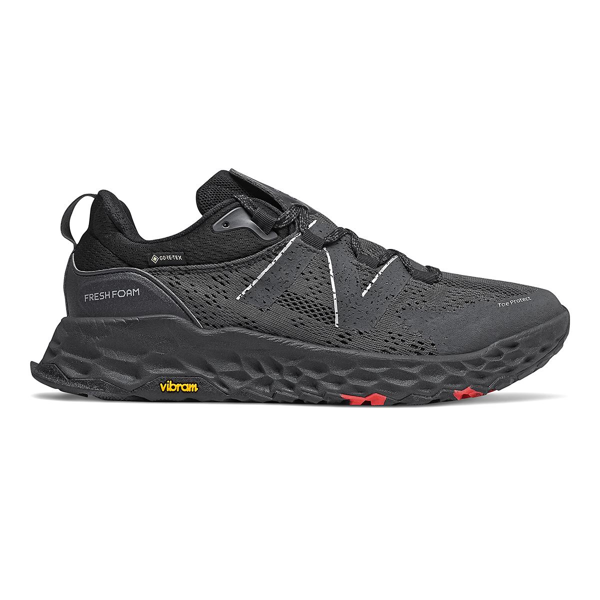 Men's New Balance Hierro V5 Gore-Tex Running Shoe - Color: Black - Size: 4.5 - Width: Wide, Black, large, image 1