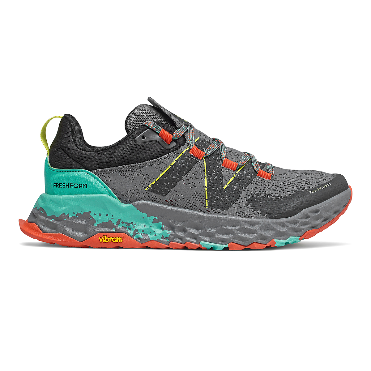 Men's New Balance Hierro V5 Trail Running Shoe - Color: Lead - Size: 4.5 - Width: Wide, Lead, large, image 1
