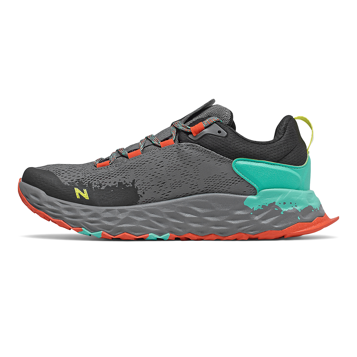 Men's New Balance Hierro V5 Trail Running Shoe - Color: Lead - Size: 4.5 - Width: Wide, Lead, large, image 2