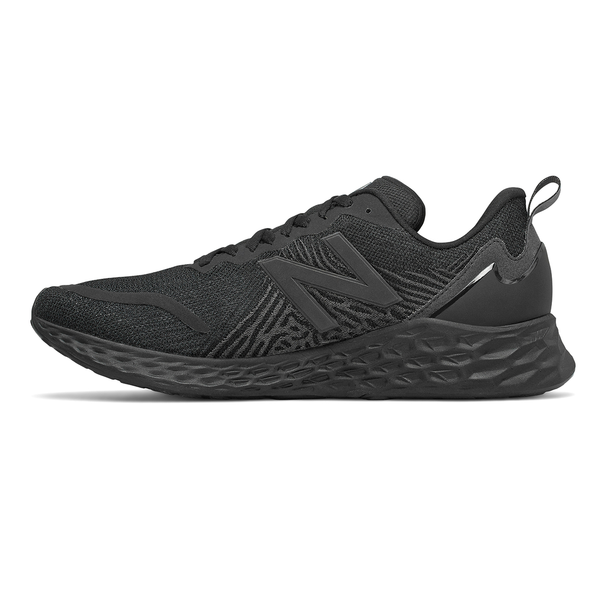 Men's New Balance Tempo Running Shoe - Color: Black - Size: 9 - Width: Wide, Black, large, image 2