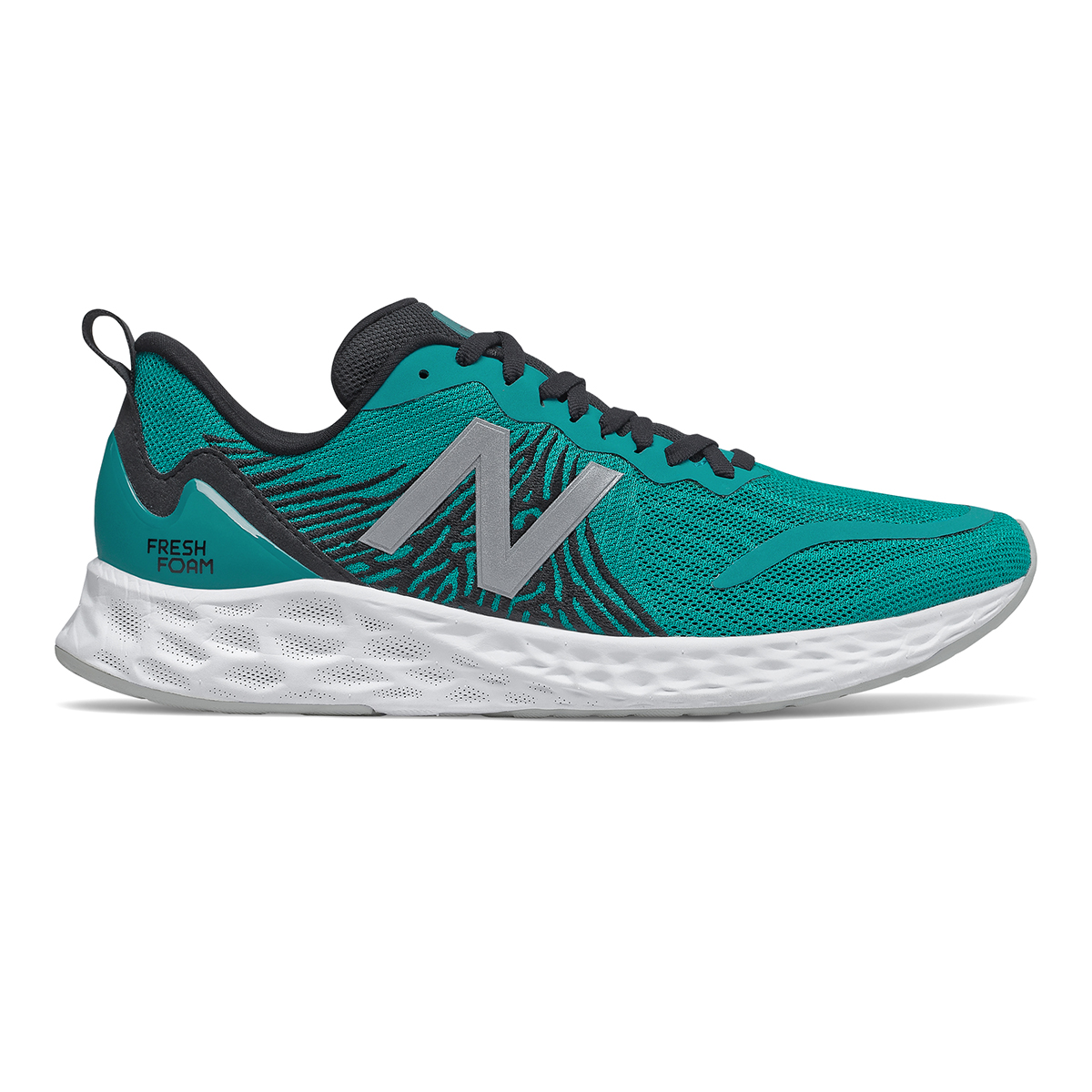 Men's New Balance Tempo Running Shoe - Color: Team Teal - Size: 7.5 - Width: Wide, Team Teal, large, image 1