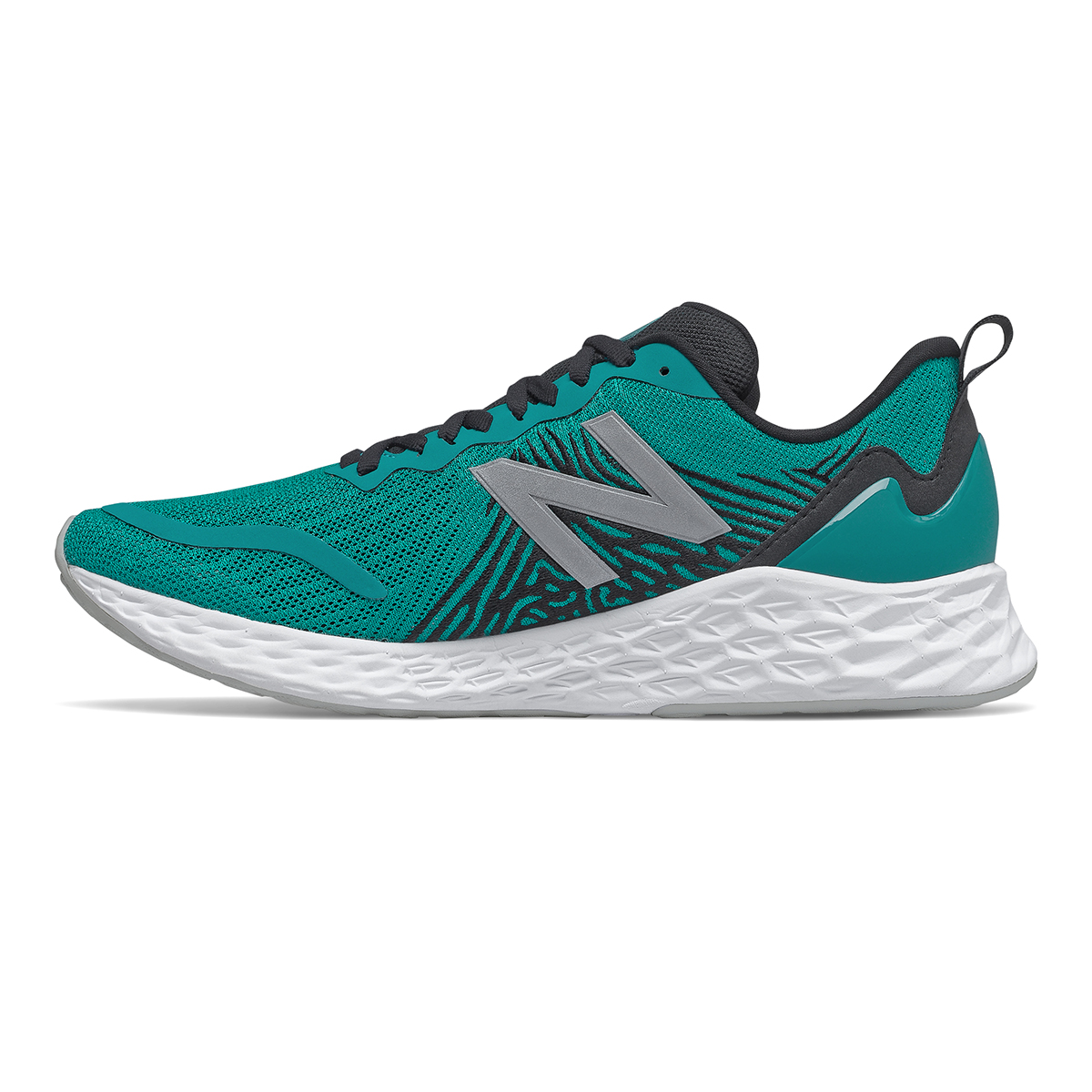 Men's New Balance Tempo Running Shoe - Color: Team Teal - Size: 7.5 - Width: Wide, Team Teal, large, image 2