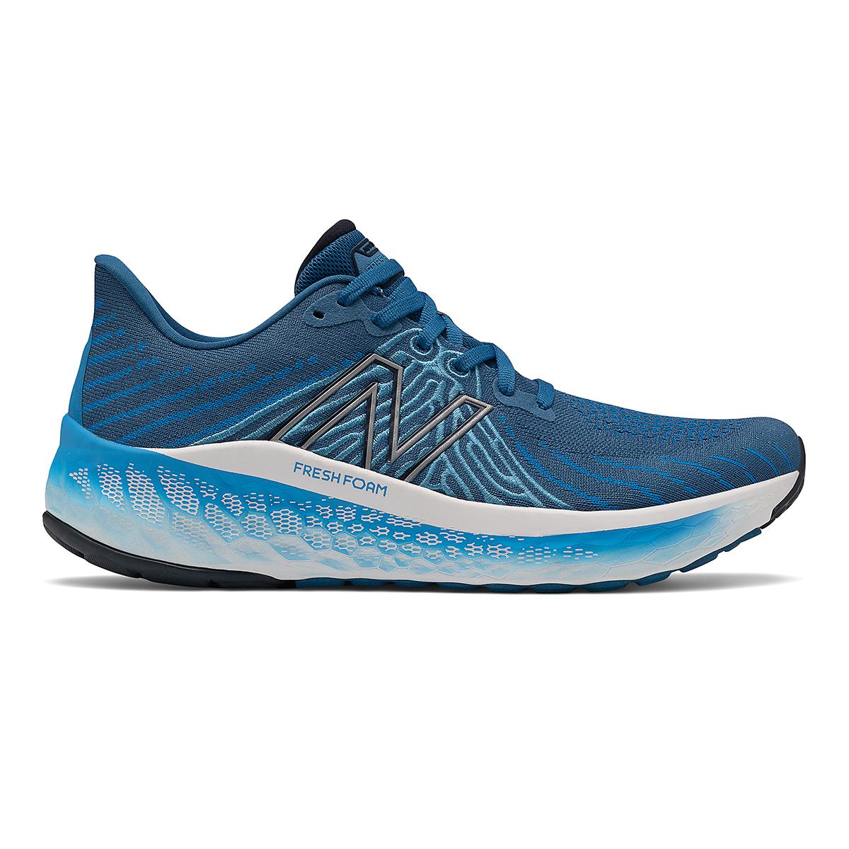 Men's New Balance Fresh Foam X Vongo V5 Running Shoe - Color: Oxygen Blue/Laser Blue - Size: 7 - Width: Wide, Oxygen Blue/Laser Blue, large, image 1