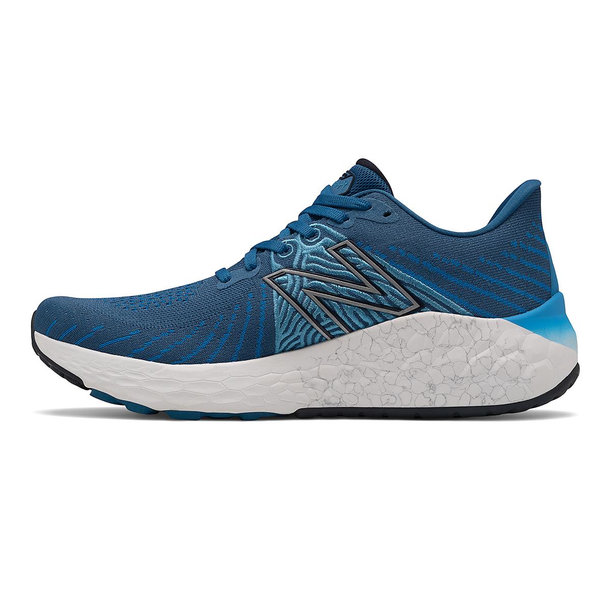 Men's New Balance Fresh Foam X Vongo V5 Running Shoe - Color: Oxygen Blue/Laser Blue - Size: 7 - Width: Wide, Oxygen Blue/Laser Blue, large, image 2