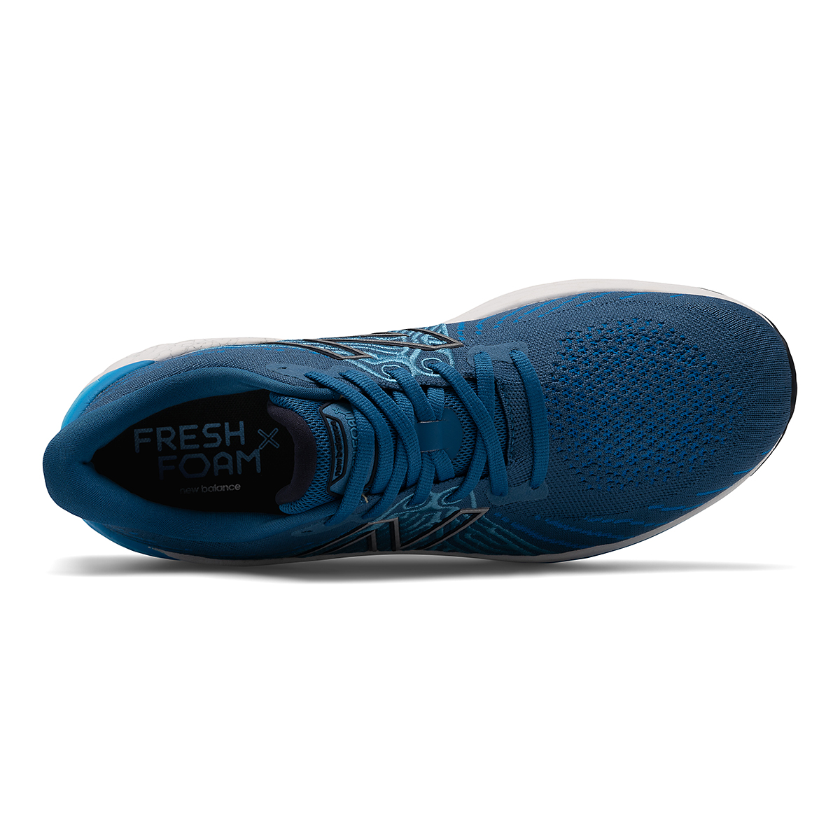 Men's New Balance Fresh Foam X Vongo V5 Running Shoe - Color: Oxygen Blue/Laser Blue - Size: 7 - Width: Wide, Oxygen Blue/Laser Blue, large, image 3