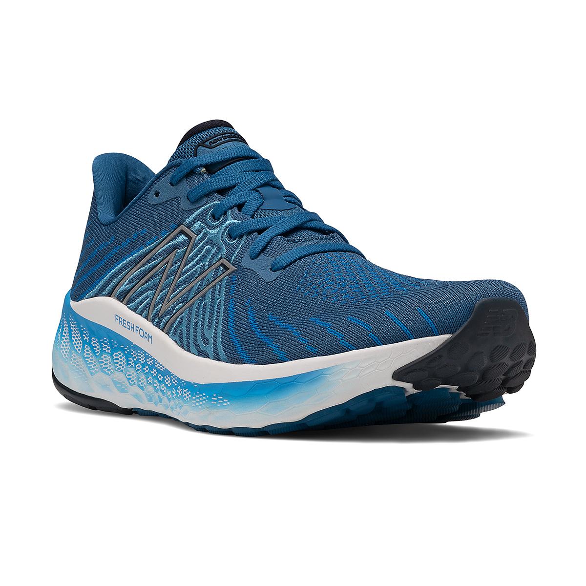 Men's New Balance Fresh Foam X Vongo V5 Running Shoe - Color: Oxygen Blue/Laser Blue - Size: 7 - Width: Wide, Oxygen Blue/Laser Blue, large, image 5