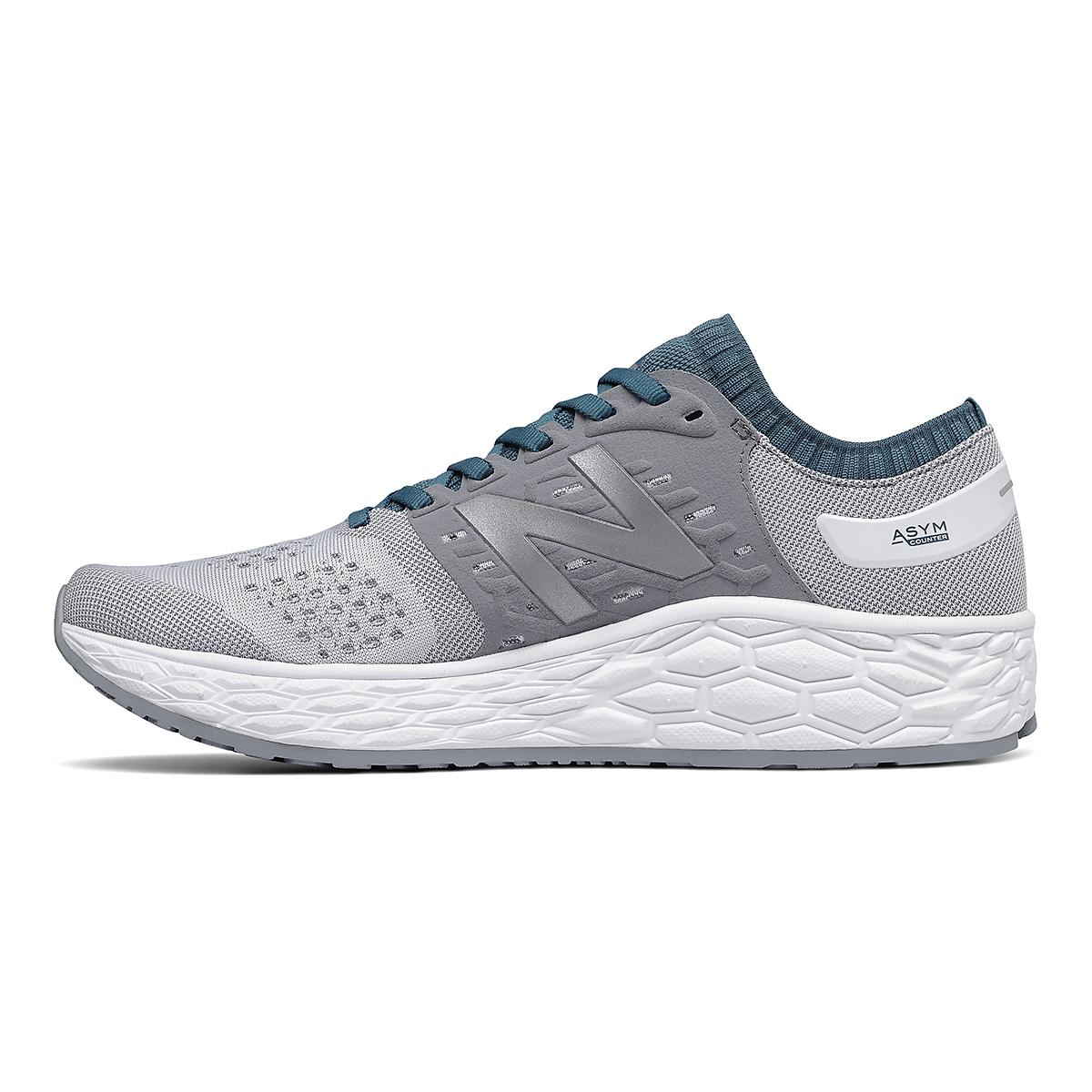 Men's New Balance Vongo V4 Running Shoe - Color: White - Size: 8 - Width: Regular, White, large, image 2