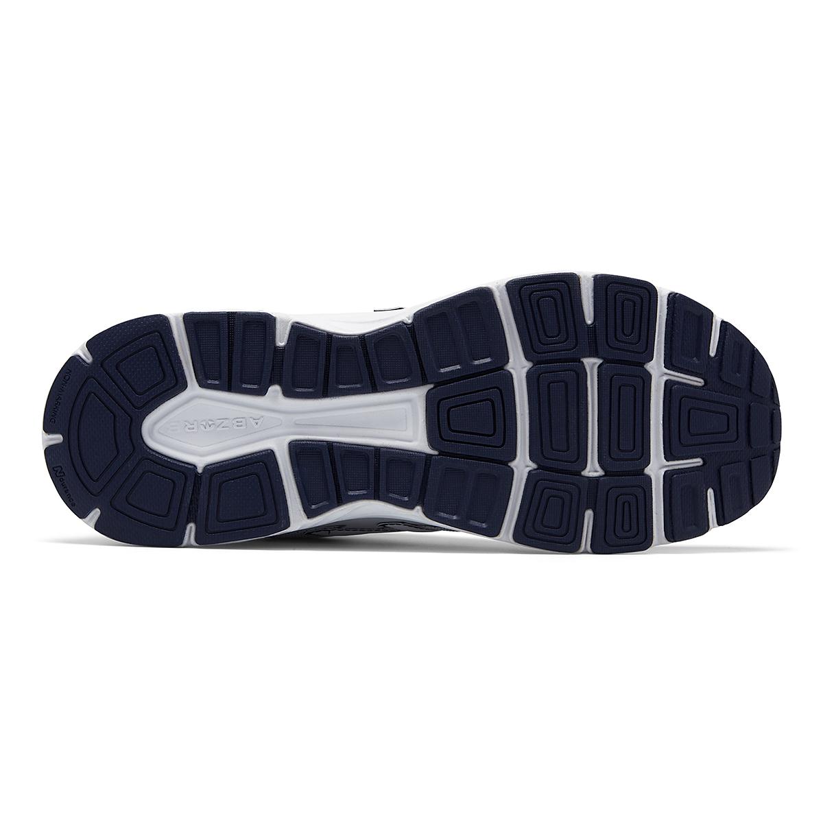 Men's New Balance 840v2 Leather Walking Shoe - Color: White/Navy - Size: 7 - Width: Wide, White/Navy, large, image 4