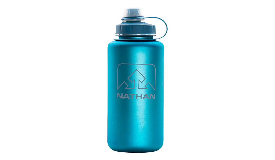 Nathan BigShot Water Bottle - Color: Electric Blue/Blue Jay/Wild Dove Size: NS, Blue/Blue, large, image 1