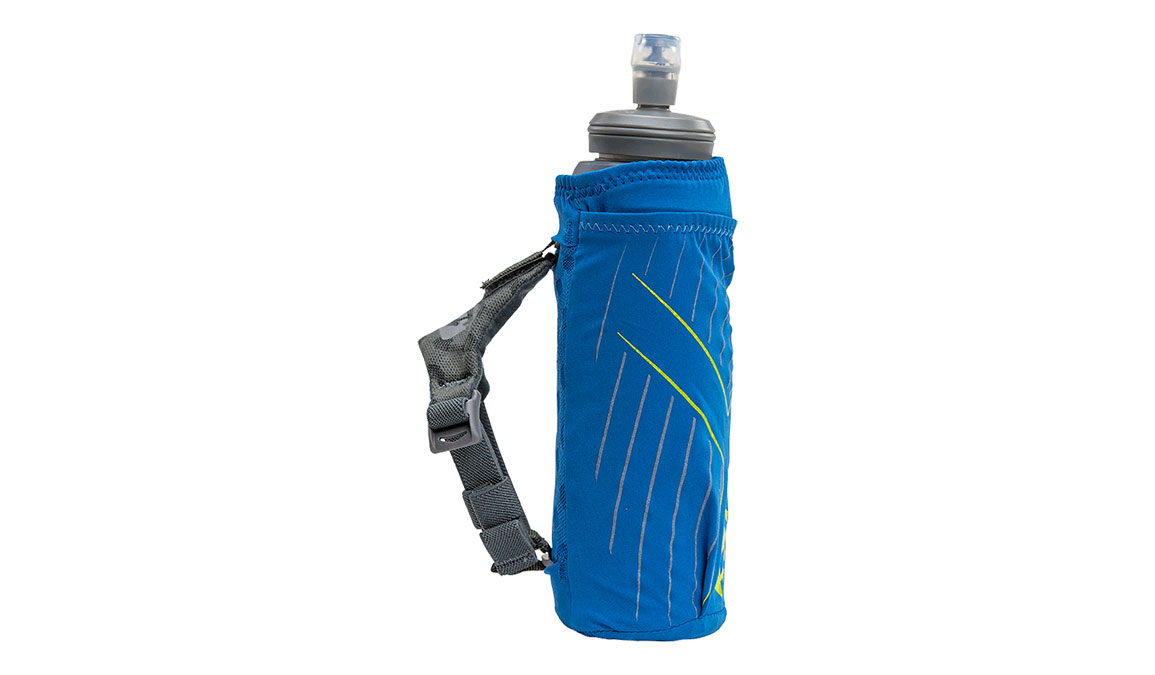 Nathan ExoDraw 2.0 Insulated 18oz Handheld - Color: Deep Water/Vibrant Yellow, Blue/Yellow, large, image 2