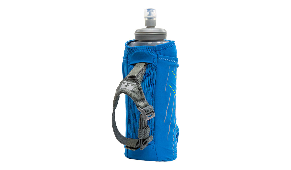 Nathan ExoDraw 2.0 Insulated 18oz Handheld - Color: Deep Water/Vibrant Yellow, Blue/Yellow, large, image 3