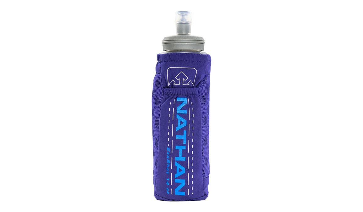 Nathan ExoShot 2.0 14oz Handheld - Color: Astral Aura/Electric Blue, Purple/Blue, large, image 1