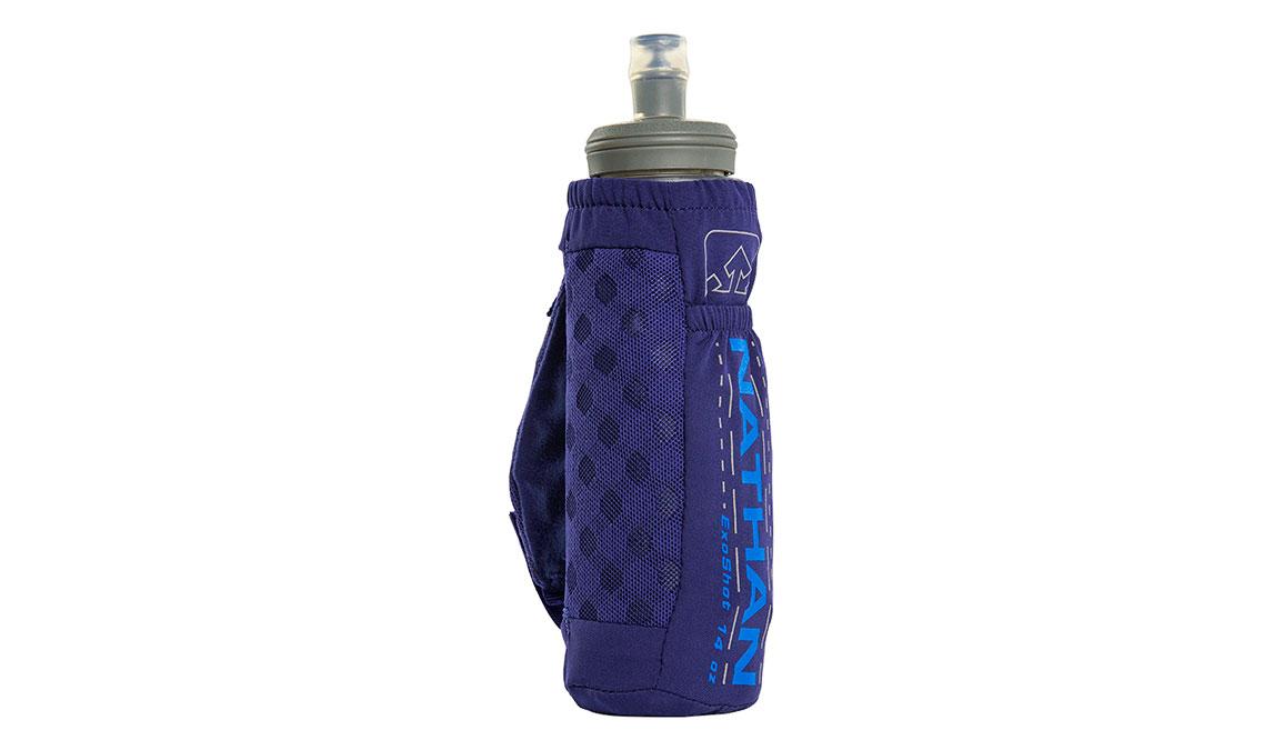 Nathan ExoShot 2.0 14oz Handheld - Color: Astral Aura/Electric Blue, Purple/Blue, large, image 2