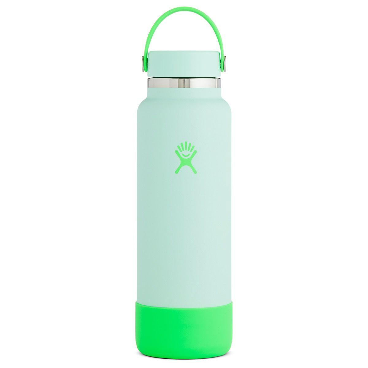 Hydro Flask 40 Oz Wide Mouth Prism Pop Bottle - Color: Pop Green - Size: NS - Width:, Pop Green, large, image 1
