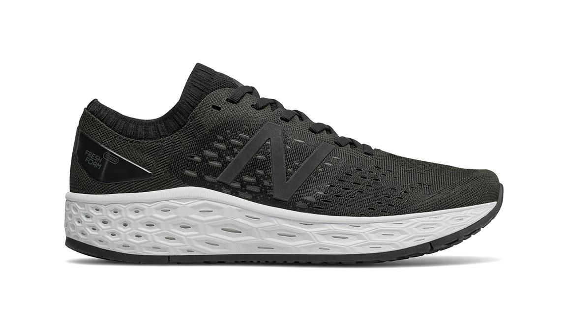 Men's New Balance Vongo V4 Running Shoe - Color: Black/White (Regular Width) - Size: 9, Black/White, large, image 1