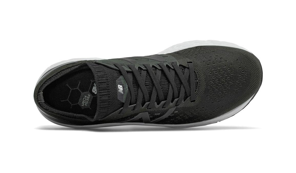Men's New Balance Vongo V4 Running Shoe - Color: Black/White (Regular Width) - Size: 9, Black/White, large, image 3