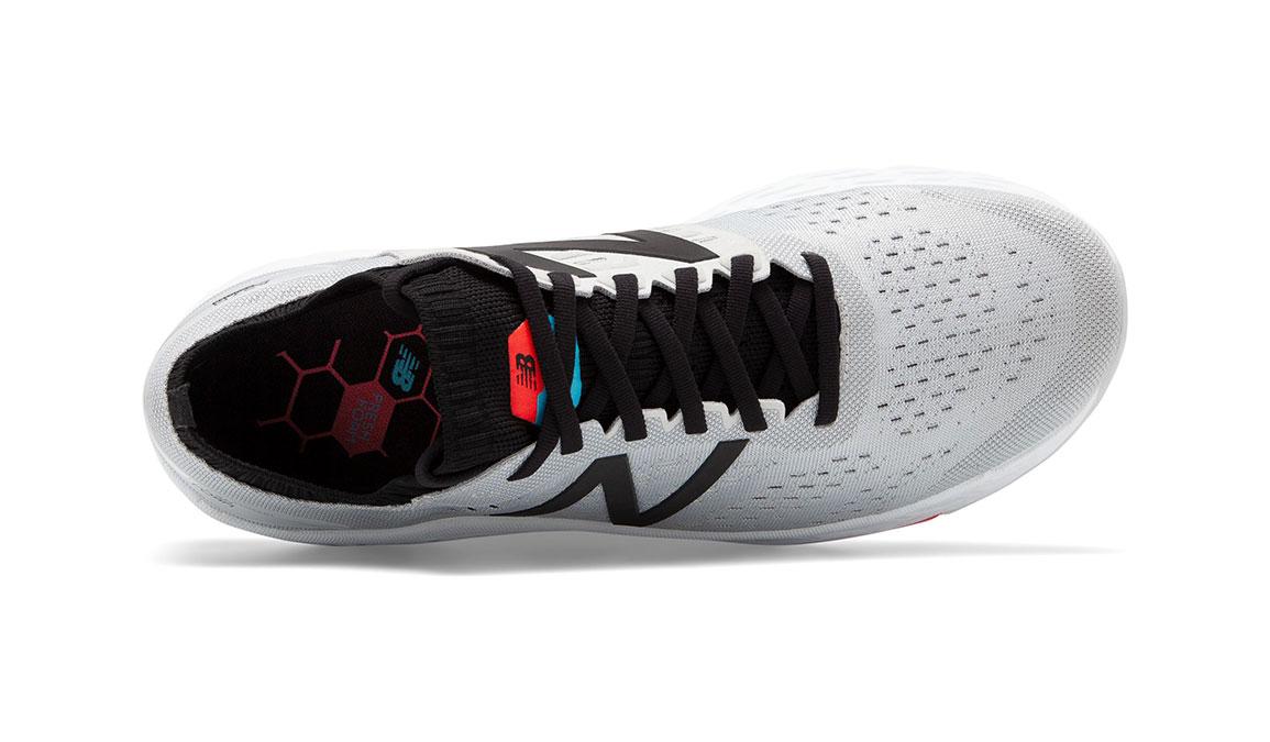 Men's New Balance Vongo V4 Running Shoe - Color: Light Aluminum/Red (Regular Width) - Size: 7.5, Silver/Red, large, image 3
