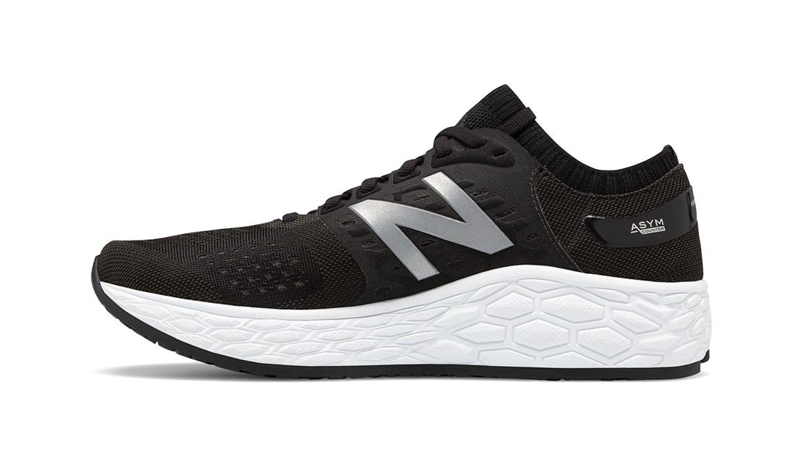 Women's New Balance Vongo V4 Running Shoe - Color: Black/White (Regular Width) - Size: 7, Black/White, large, image 2