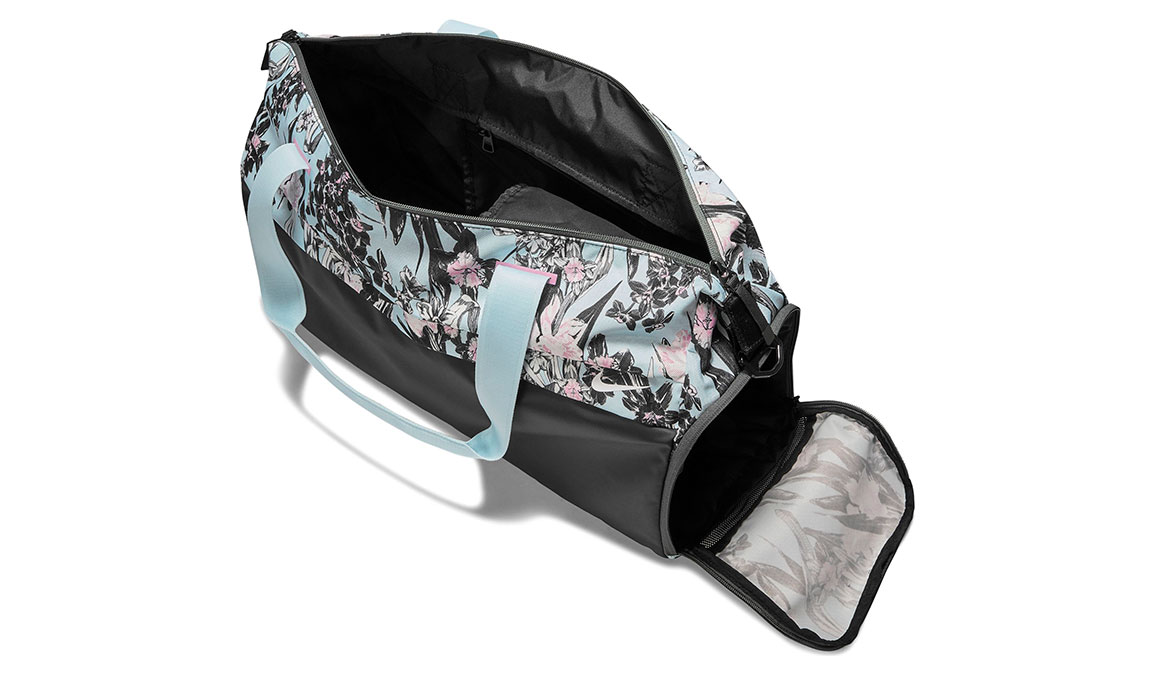 Nike Radiate Floral Club Bag - Color: Topaz Mist/Black/White Size: OS, Topaz Mist/Black/White, large, image 4