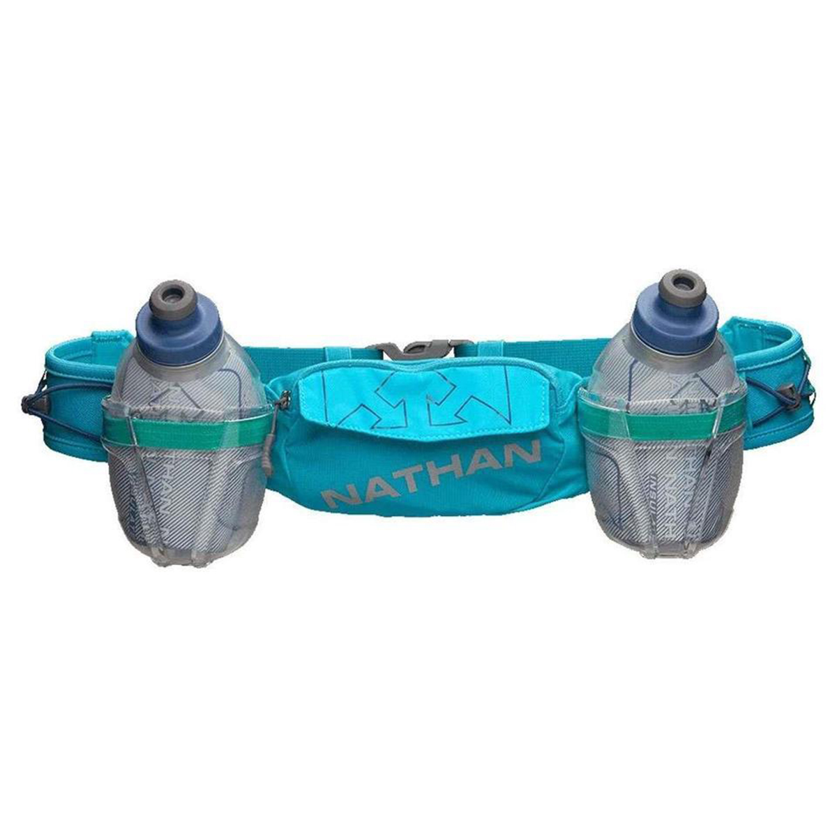 Nathan Trailmix Plus Insulated Hydration Belt - Color: Bluebird/Peacock - Size: One Size, Bluebird/Peacock, large, image 1