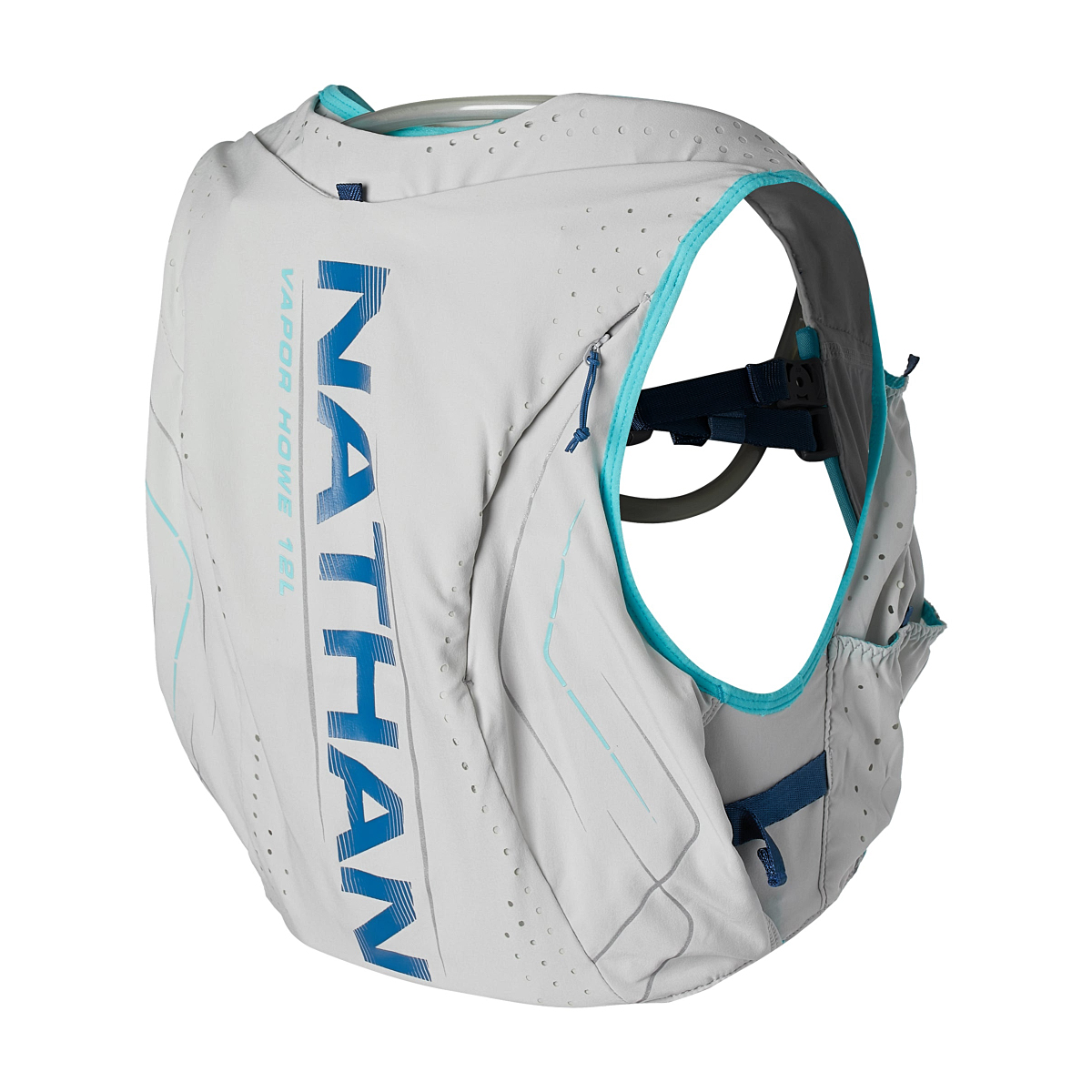 Women's Nathan Vaporhowe 2.0 12 Liter Race Vest - Color: Vapor Blue/True Navy - Size: XS, Vapor Blue/True Navy, large, image 2