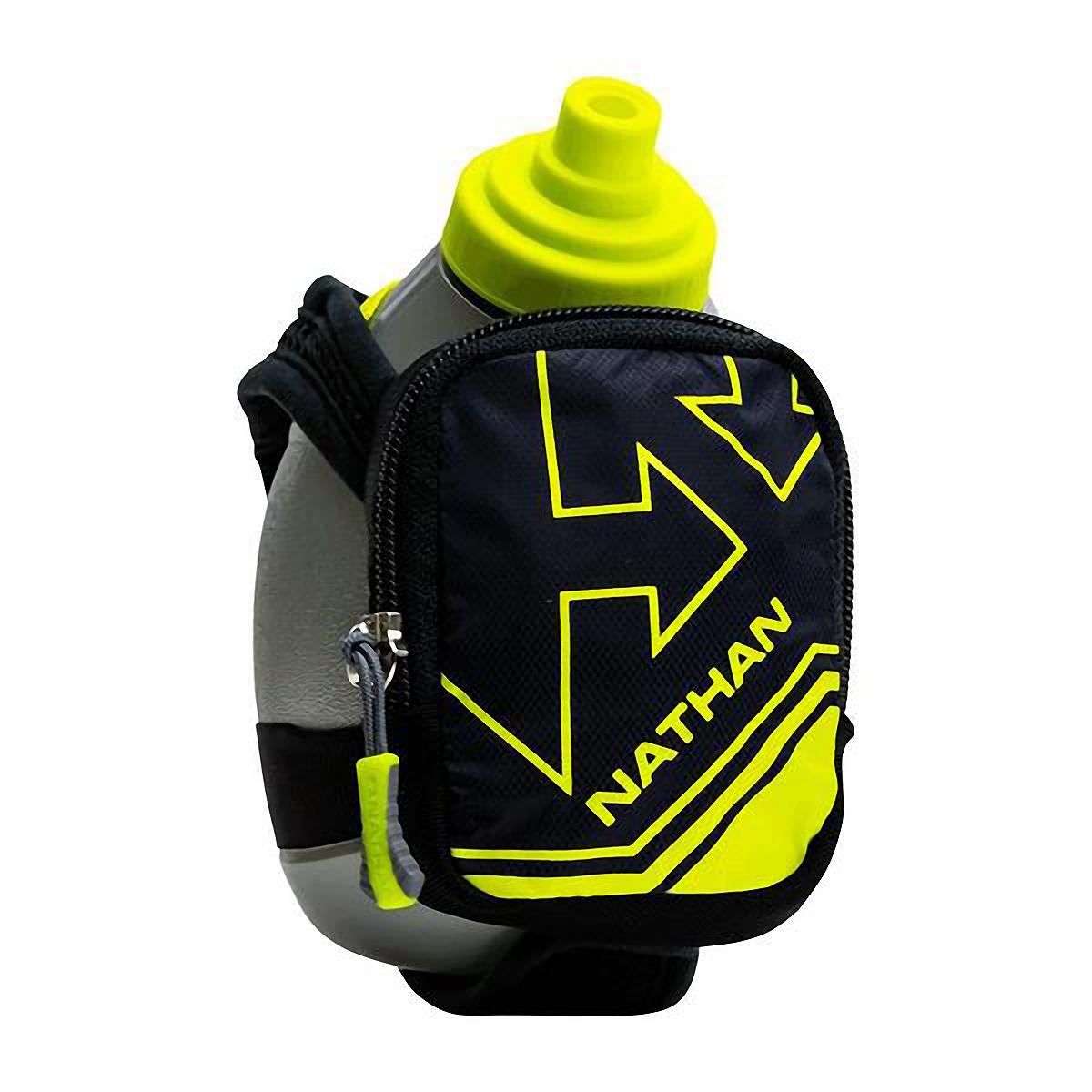 Nathan Quickshot Plus Hydration Flask - Color: Black - Size: One Size, Black, large, image 1