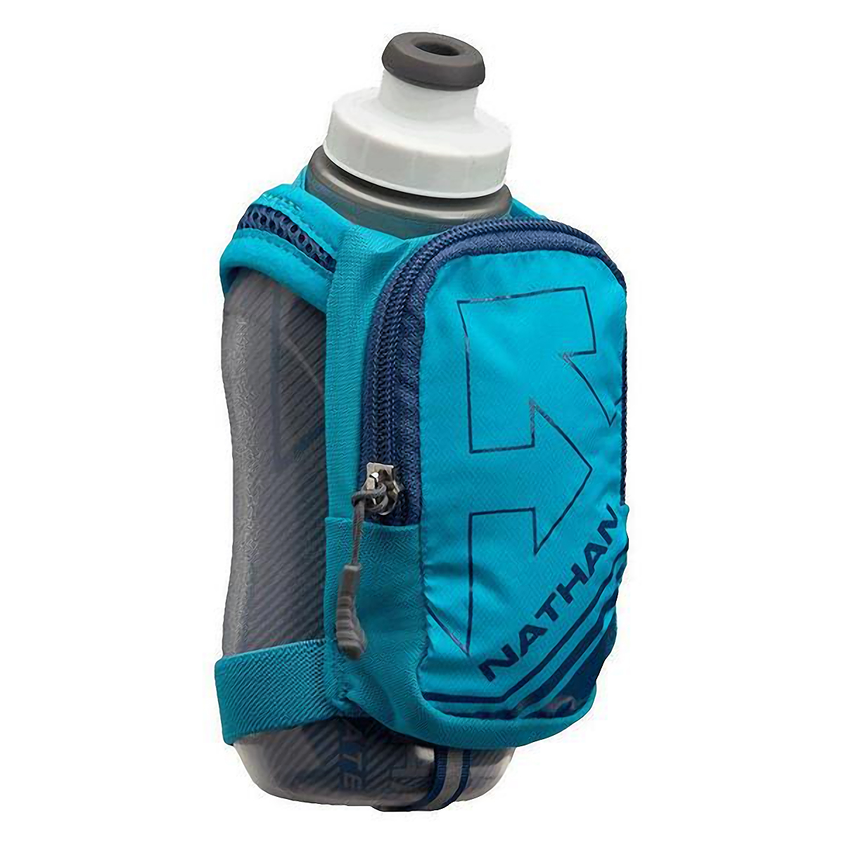 Nathan Speedshot Plus Insulated Flask  - Color: Bluebird/True Navy - Size: One Size, Bluebird/True Navy, large, image 1