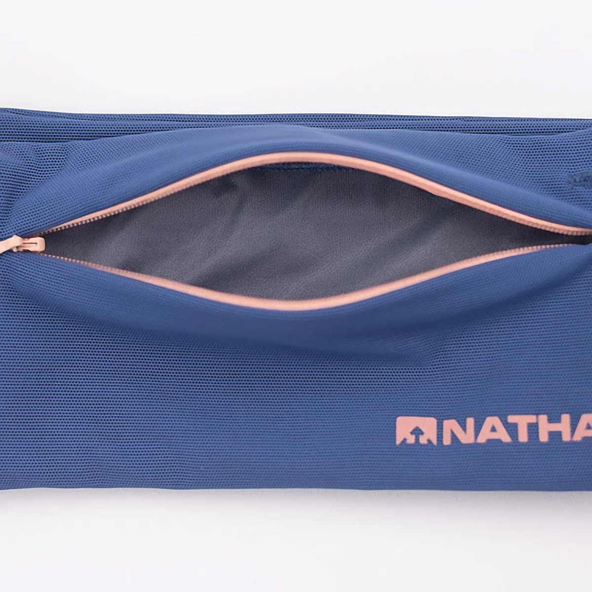 Nathan The Zipster Lite Training Waist Belt - Color: True Navy/Rose - Size: XS - Width:, True Navy/Rose, large, image 4