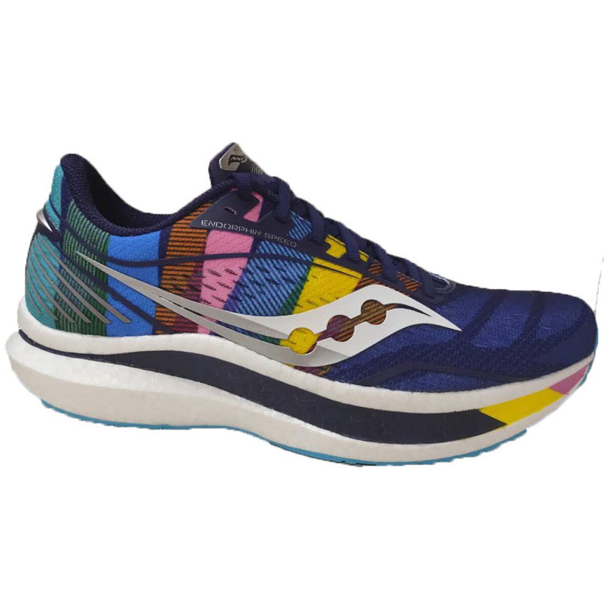Women's Saucony Endorphin Speed Running Shoe - Color: NYC - Size: 5 - Width: Regular, NYC, large, image 1