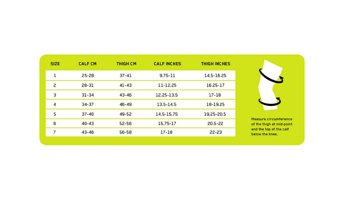CEP Compression Ortho+ Compression Knee Sleeve - Color: Black/Green - Size: II, Black/Green, large, image 2