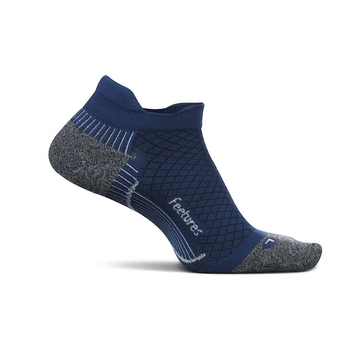 Feetures PF Relief Cushion No Show Tab Socks - Color: Oceanic - Size: M, Oceanic, large, image 1