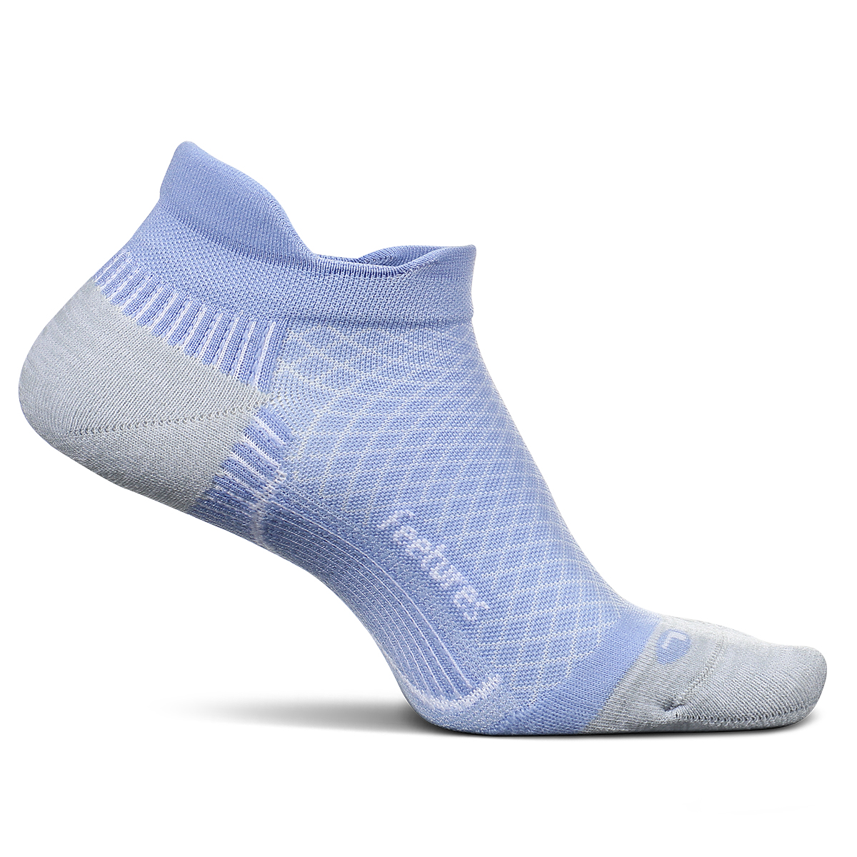 Feetures PF Relief Cushion No Show Tab Socks - Color: Lilatech - Size: S, Lilatech, large, image 1