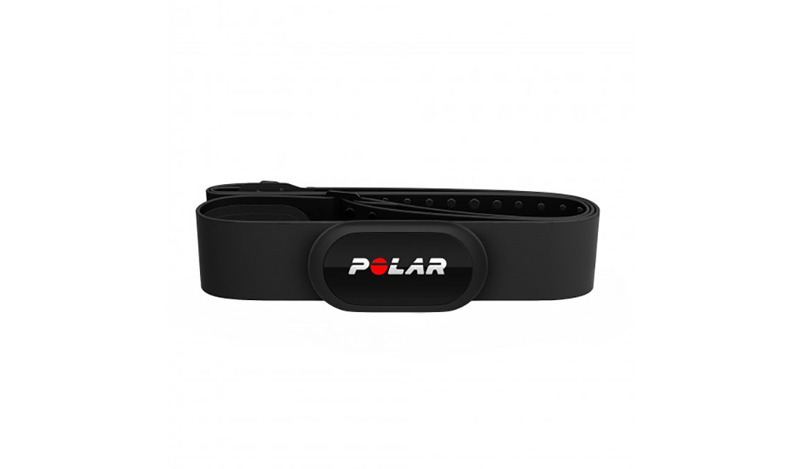 Polar H10 Bluetooth/ANT+ Heart Rate Sensor - Color: Black Size: Medium/XX-Large - CT, Black, large, image 1