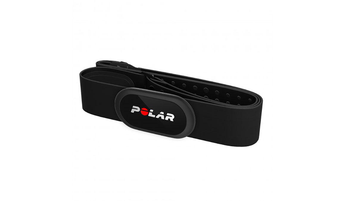 Polar H10 Bluetooth/ANT+ Heart Rate Sensor - Color: Black Size: Medium/XX-Large - CT, Black, large, image 2
