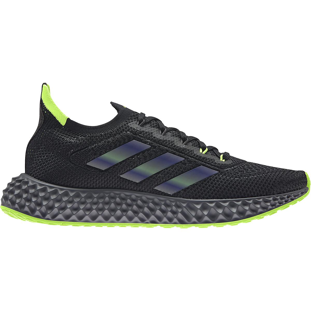 Men's Adidas 4DFWD Running Shoe - Color: Core Black/Carbon - Size: 6 - Width: Regular, Core Black/Carbon, large, image 1
