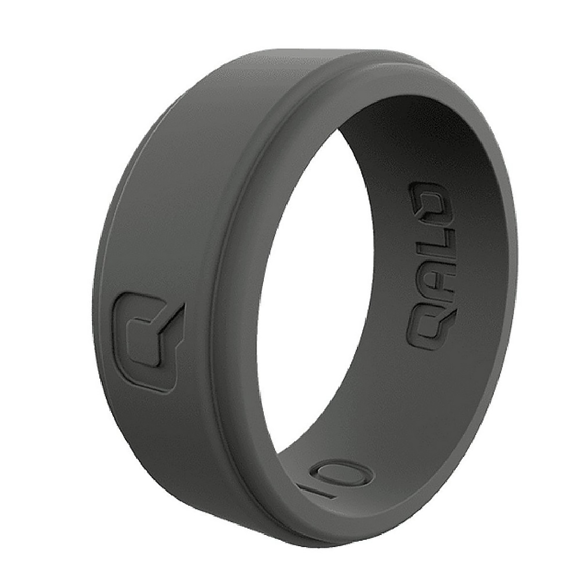 Men's Qalo Step Edge Q2X Silicone Ring, , large, image 1