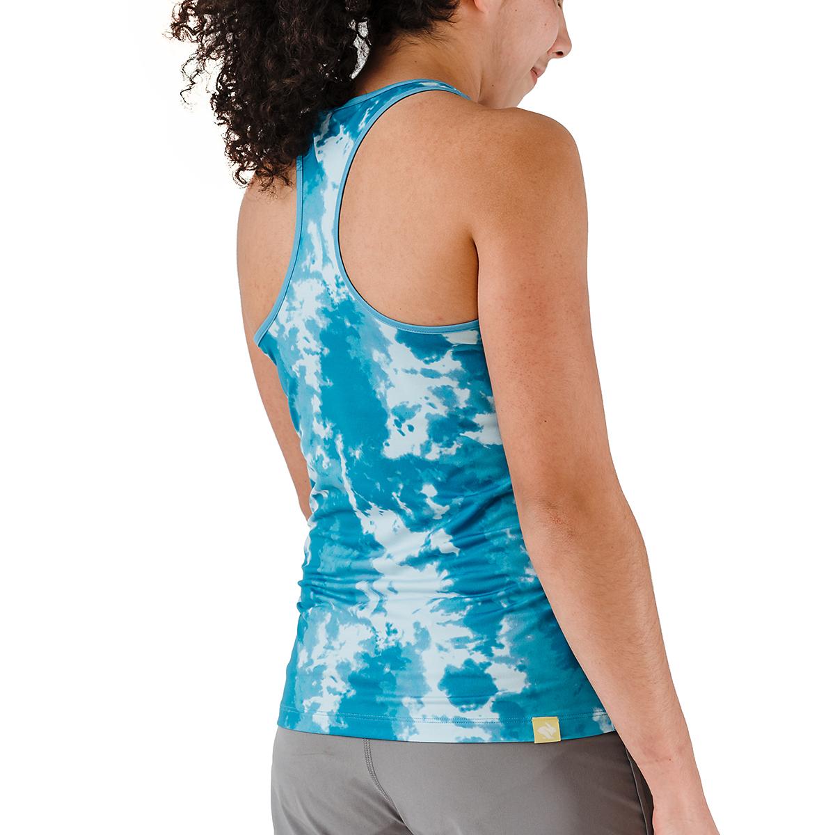 Women's Rabbit Bunny Hop Tank - JackRabbit Exclusive  - Color: Ipanema Tie Dye - Size: XS, Ipanema Tie Dye, large, image 2