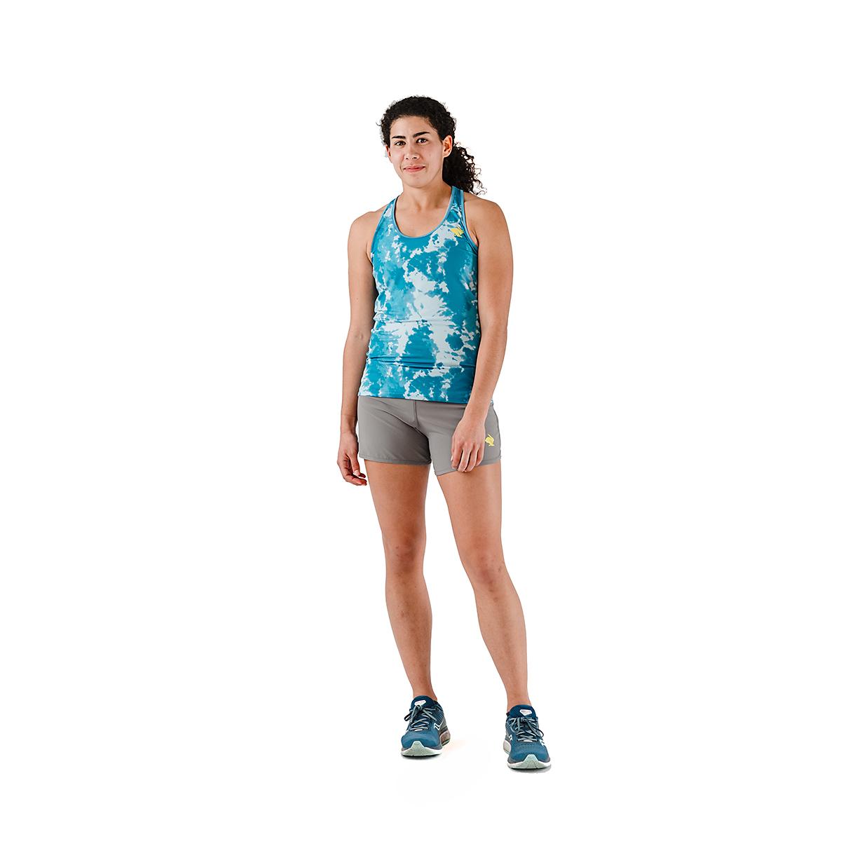 Women's Rabbit Bunny Hop Tank - JackRabbit Exclusive  - Color: Ipanema Tie Dye - Size: XS, Ipanema Tie Dye, large, image 4