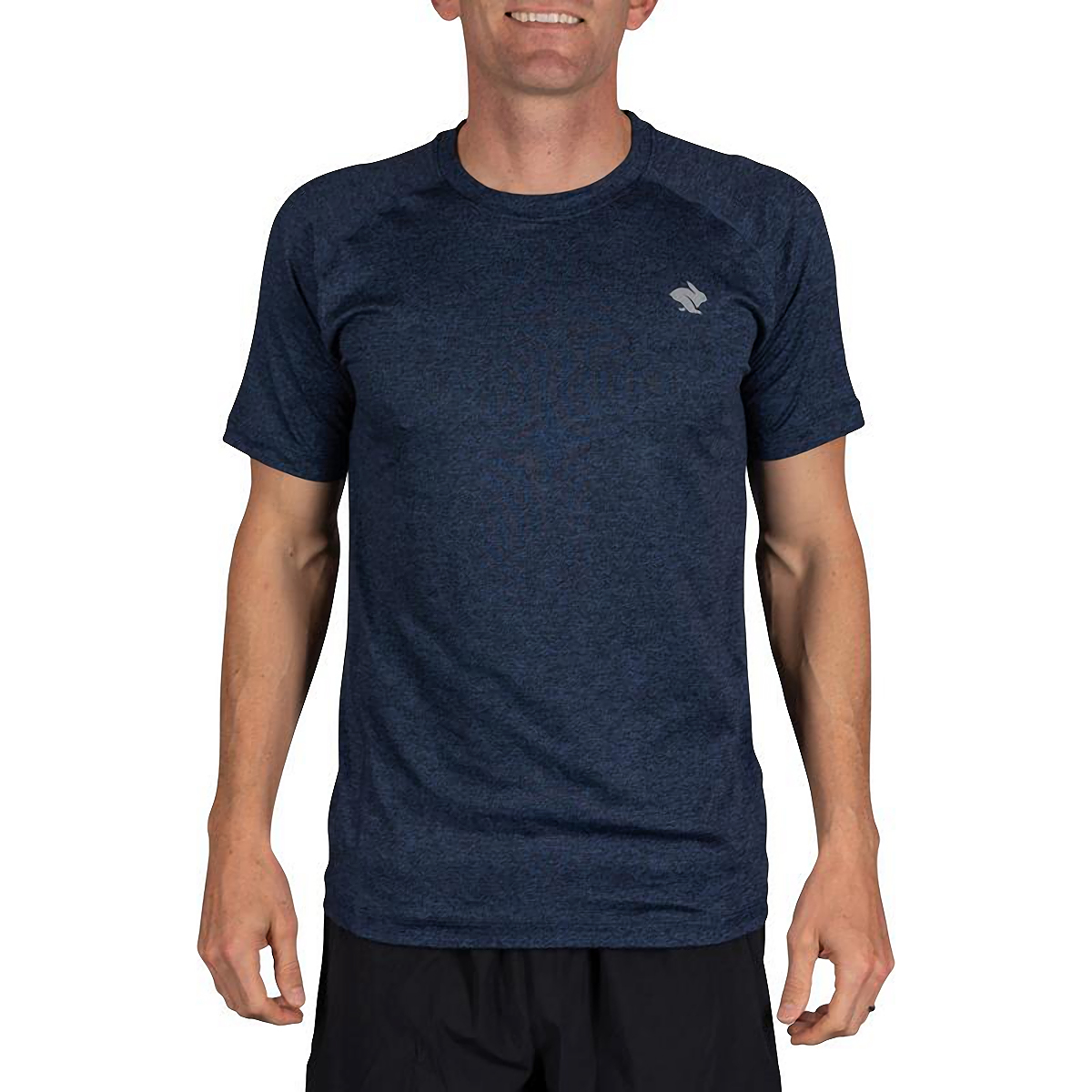 Men's Rabbit EZ Short Sleeve Tee - Color: Eclipse Heather - Size: XS, Eclipse Heather, large, image 1