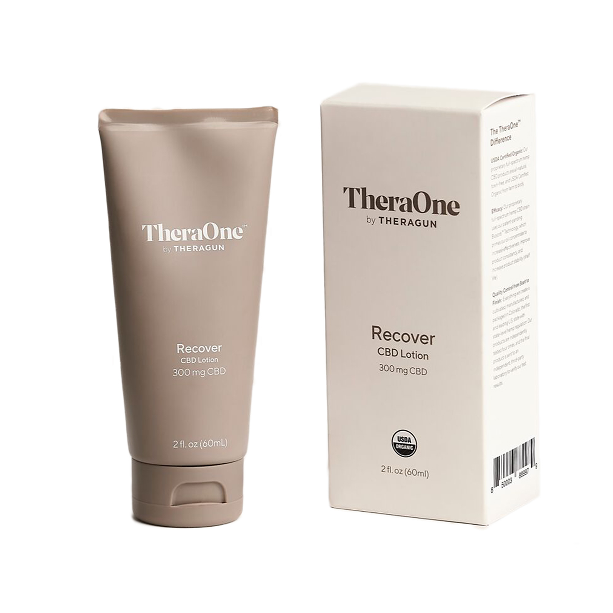 TheraOne Recover CBD Lotion - Size: One Size, , large, image 2